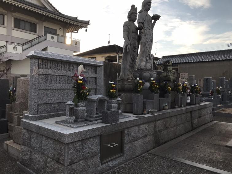 観音寺墓地(明石市)の無縁塚