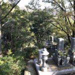 烏原霊園(神戸市兵庫区)のお墓の様子