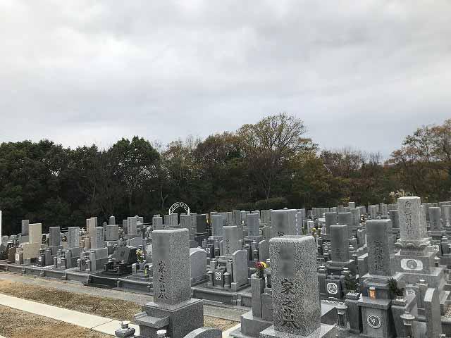 神戸聖地霊園 お墓の様子
