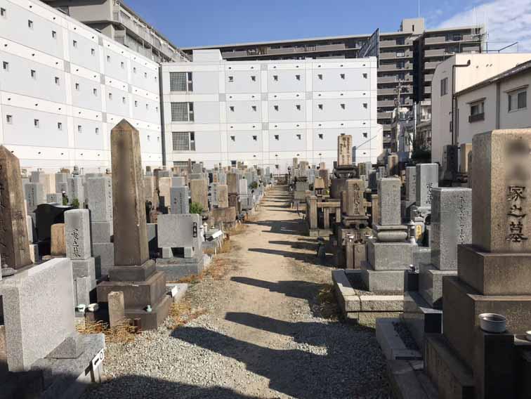 杭瀬墓地(尼崎市)のお墓