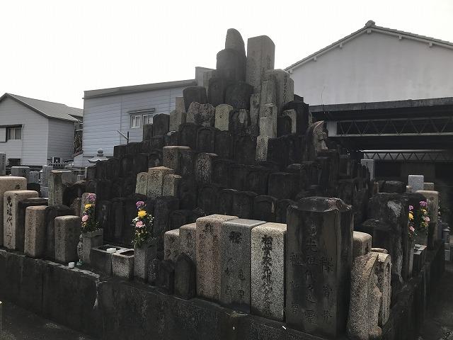 安立南霊園(大阪市住之江区)の無縁塚