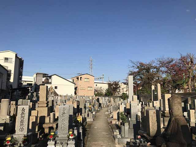 安立南霊園(大阪市住之江区)の水道
