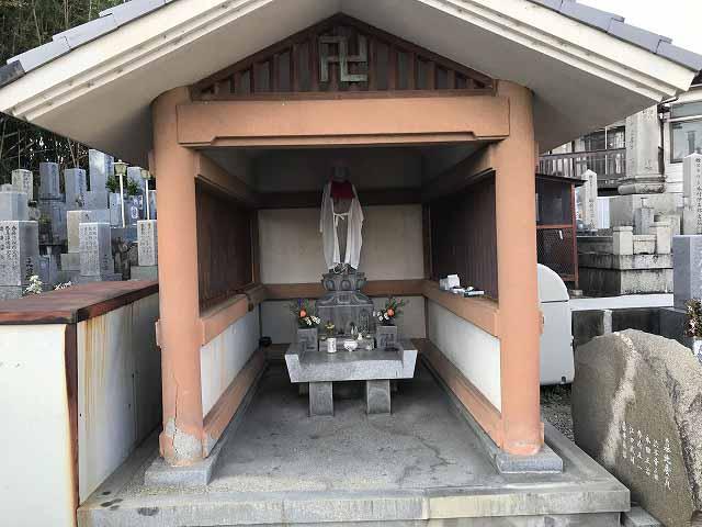 栄根霊園(川西市)の地蔵