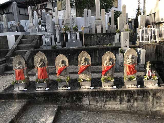 栄根霊園(川西市)の六地蔵さん