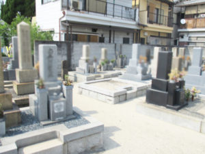 庄屋墓地3(摂津市)