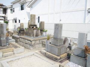 庄屋墓地(摂津市)のお墓