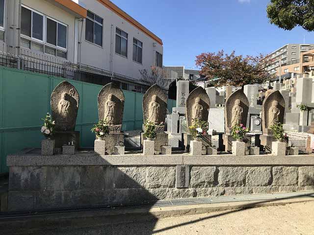 東明桜ヶ丘霊苑の六地蔵さん