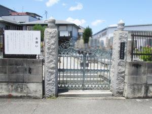 鳥飼上墓地1(摂津市)