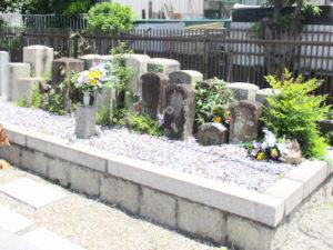鳥飼上墓地(摂津市)のお墓