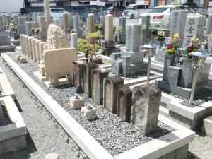 鳥飼西自治会墓地2(摂津市)