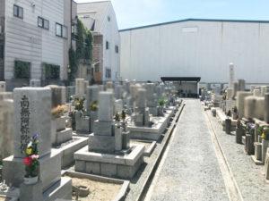 鳥飼西自治会墓地(摂津市)のお墓