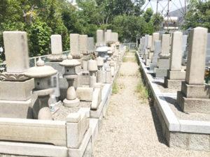 鳥飼野々自治会三組墓地1(摂津市)