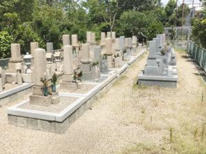 鳥飼野々自治会三組墓地2(摂津市)