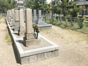鳥飼野々自治会三組墓地3(摂津市)