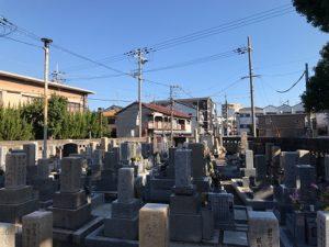 北清水霊園(大阪市旭区)のお墓