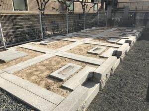 奈良共同墓地(茨木市)のお墓