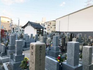 八尾木墓地(八尾市)のお墓