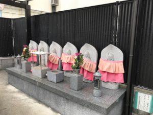 老原共同墓地(八尾市)の六地蔵