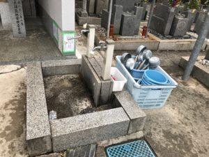 老原共同墓地(八尾市)の水場