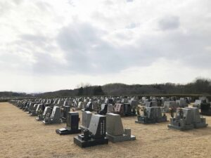 神戸市営西神墓園 お墓の確認にきました