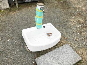切畑墓苑(神戸市北区)の水場