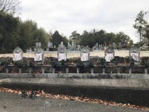 切畑墓苑(神戸市北区)の六地蔵さん