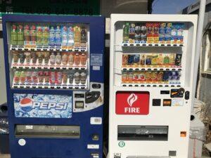 飛龍寺霊園(神戸市須磨区)自動販売機