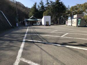 飛龍寺霊園(神戸市須磨区)の駐車場
