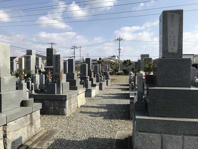 米谷東墓地(宝塚市)のお墓