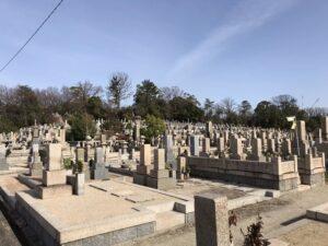 満池谷墓地(宝塚市)お彼岸です。21.3.19