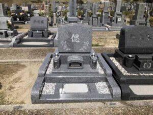 21.3.29_宝塚すみれ墓苑(宝塚市)でお墓の建立をさせて頂きました。