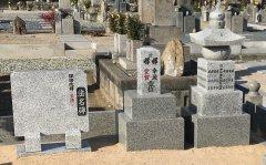 桜共同墓地で文字の彫刻をさせていただきました(中井様)