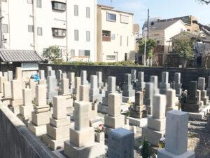 大庭町の墓地(守口市)のお墓