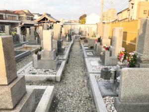 四ヶ村共同墓地(池田市)のお墓