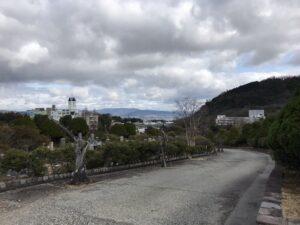 西宮市立甲山墓園 2区周辺から見える景色。21.3.6