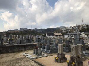 清荒神墓地(宝塚市)21.3.26