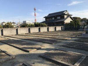 口谷墓地(宝塚市)の空き区画