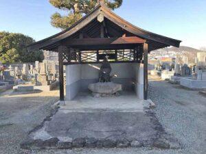 口谷墓地(宝塚市)の仏さん