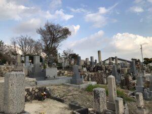 米谷墓地(宝塚市)21.3.26