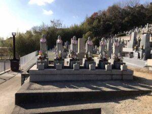 勝明寺墓地(神戸市西区)の六地蔵さん