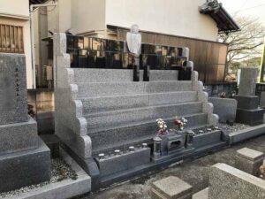山川墓地(明石市)の個別供養型墓地