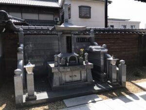 善通寺(尼崎市)の永代供養墓。駅から近くお参りしやすいです。