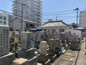 宮原墓地のお墓