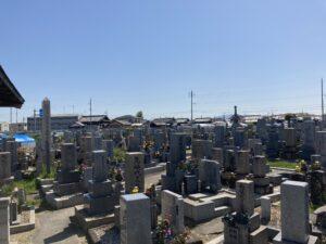 府中町墓地(和泉市)のお墓