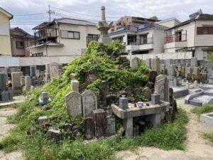 和気町墓地(和泉市)のお墓