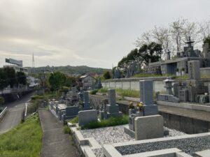 上田原墓地(四条畷市)のお墓