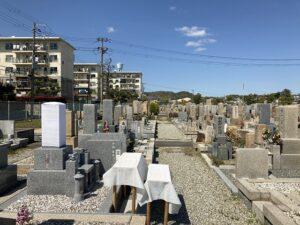 21.4.11_満池谷墓地(西宮市)にて神道式の清祓え式を執り行って頂きました。