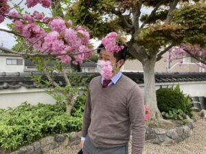 21.4.16_光福寺(川西市)の八重桜が綺麗でした。
