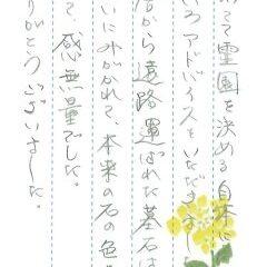 宝塚市営長尾山霊園でお墓のリフォームをさせていただきました(濱田様)