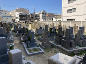 旧三番墓地(東淀川区)のお墓